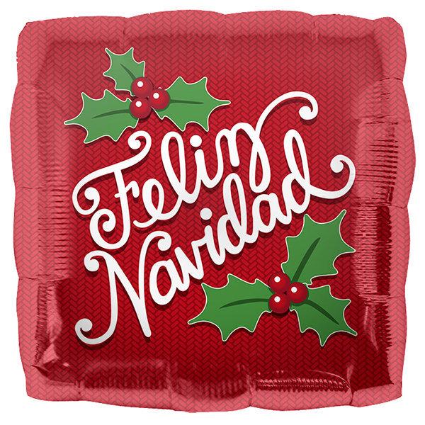 Globo Feliz Navidad