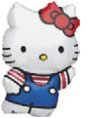 Globo Hello Kitty Azul