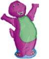 Globo Barney Hurray