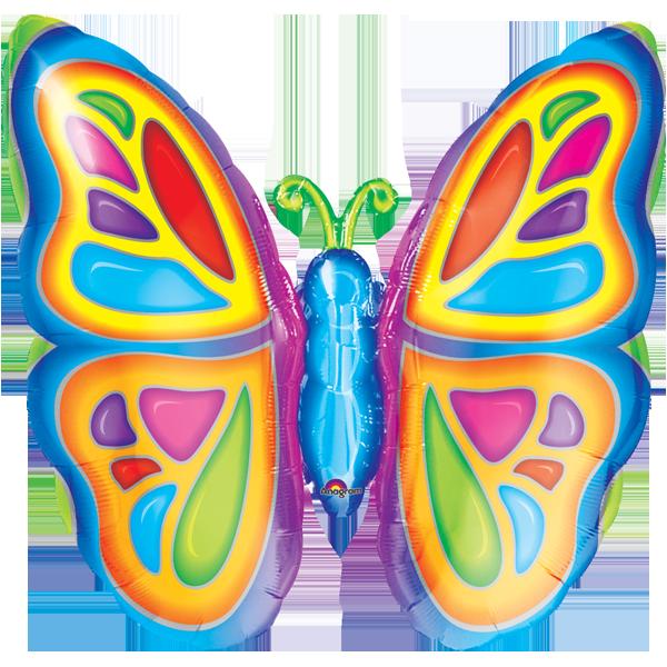 Globo Bright Butterfly