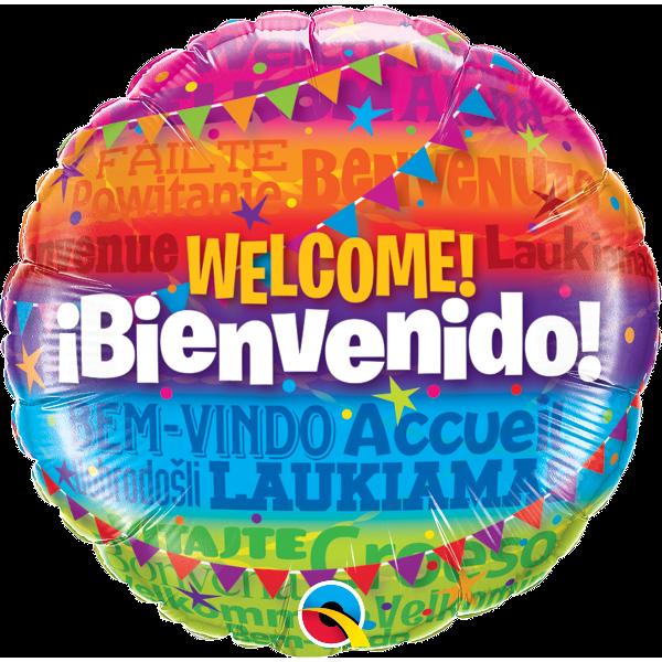 Globo Welcome! Bienvenido