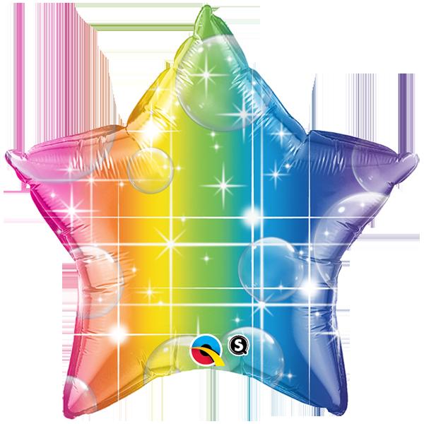 Globo Rainbow Star