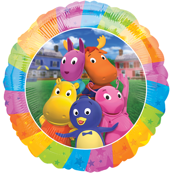 Globo Backyardigan