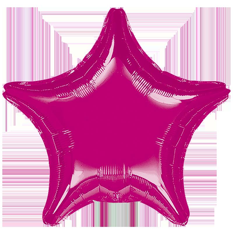Globo Estrella Fucsia