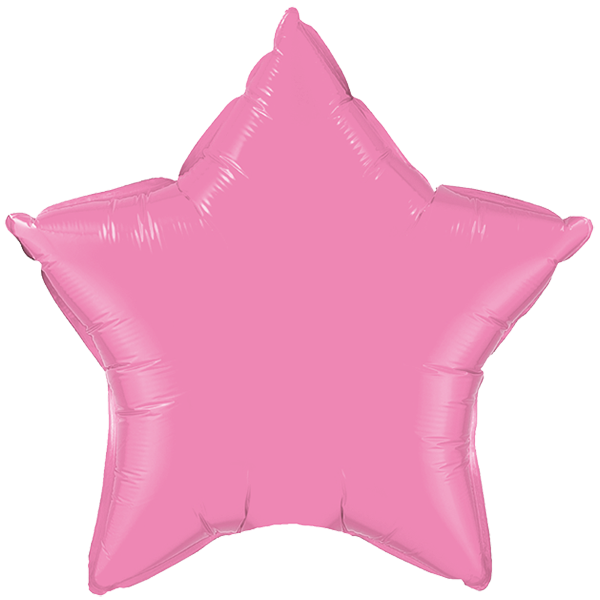 Globo Estrella Rosado Promo
