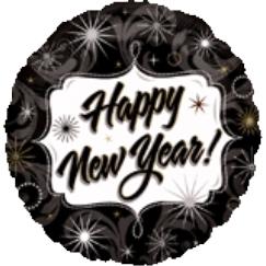 Globo Happy New Year