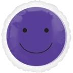 Globo Smiley Purple