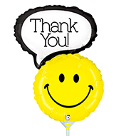 Globo Smiley Thank You