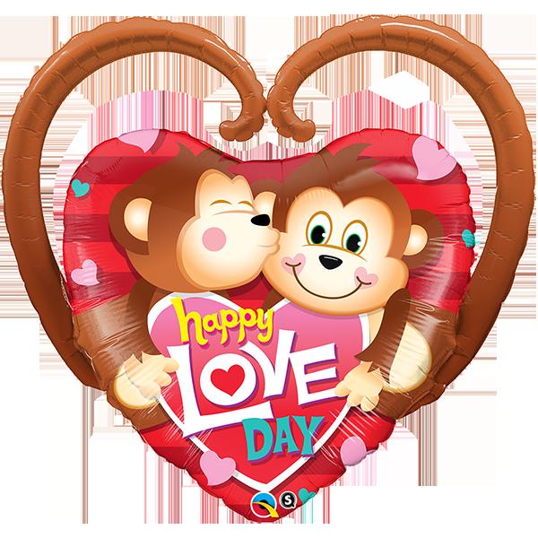 Globo Happy Love Day Monos