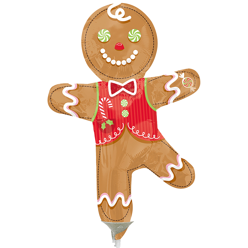 Globo Candy Gingerbread Man