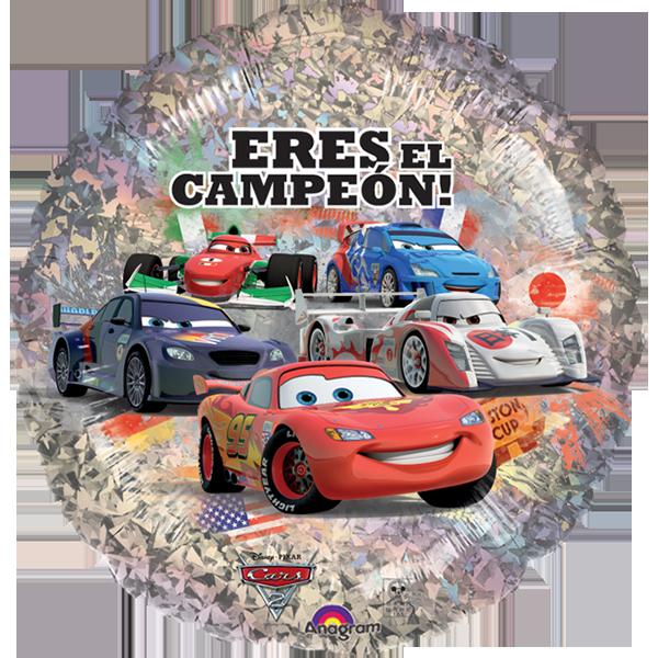 Globo Cars 2 Eres El Canpeon