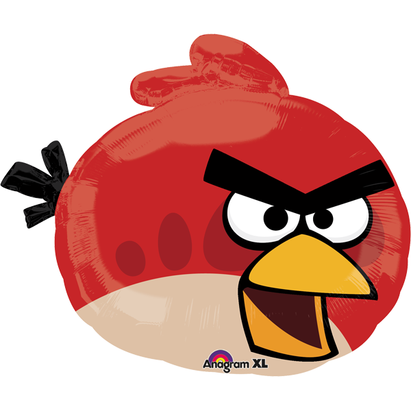 Globo Angry Birds Red Bird
