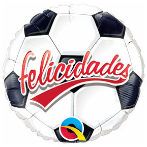 Globo Felicidades Soccer Ball
