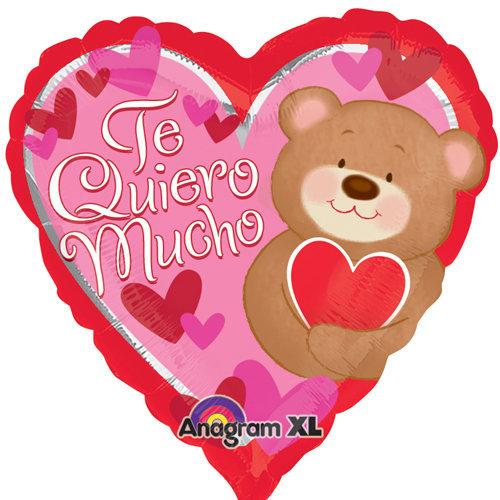 Globo Te Quiero Mucho Bear