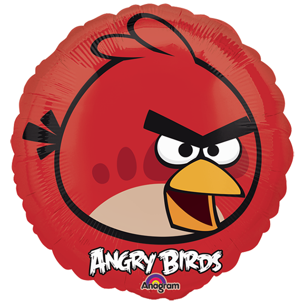 Globo Angry Birds Red Bird..