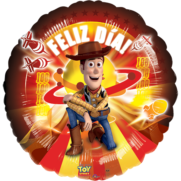 Globo Toy Story Pizza