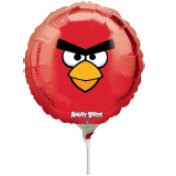 Globo Angry Birds Face Red