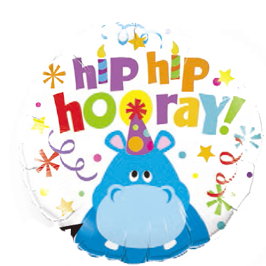 Globo Hip Hip Hooray!