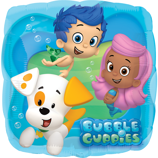 Globo Bubble Guppies- NiÑos-perrito
