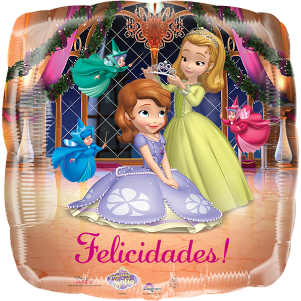 Globo Sofia Felicidades