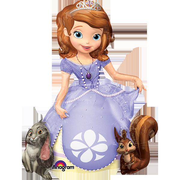 Globo Princesa Sofia