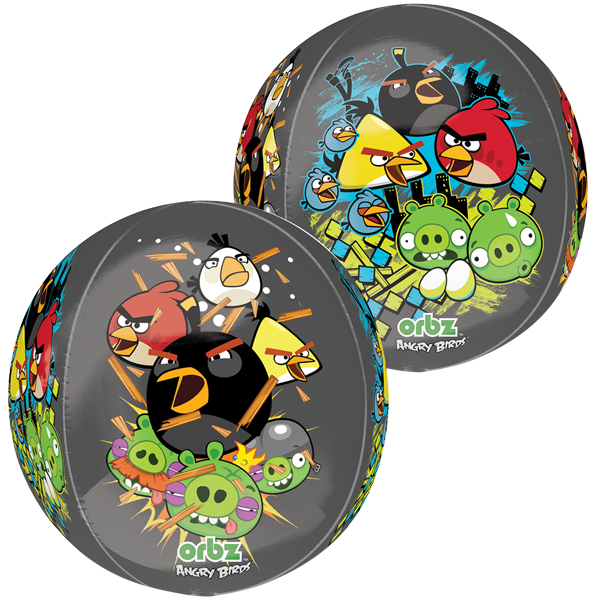 Globo Orbz Angry Birds