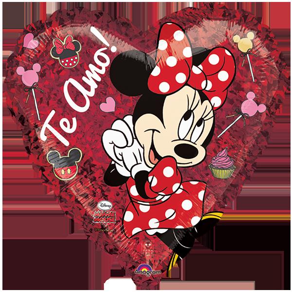 Globo Minnie Te Amo