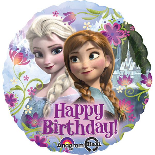 Globo Frozen Happy Birthday