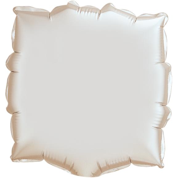 Globo Square Silver Cuadrado