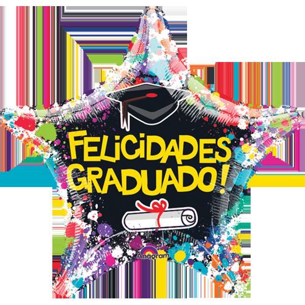 Globo Graduacion Estrella