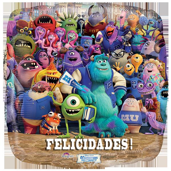 Globo Monster Felicidades