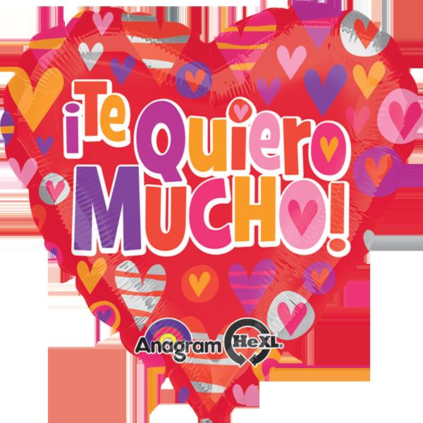 Globo Te  Quiero  Mucho  Hearts