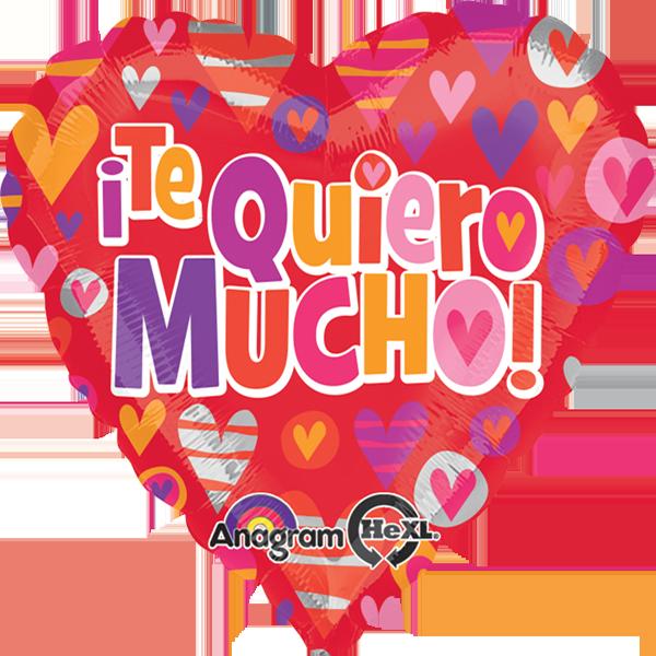 Globo Te Quiero Mucho Hearts.