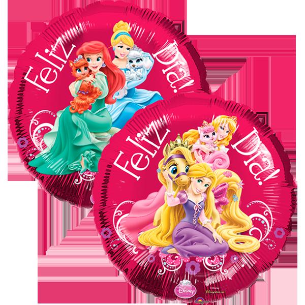 Globo Princesas Feliz Dia