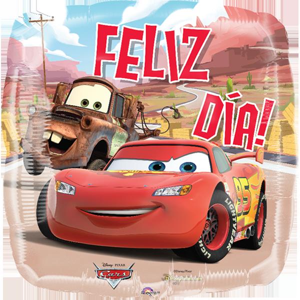Globo Cars Feliz Dia