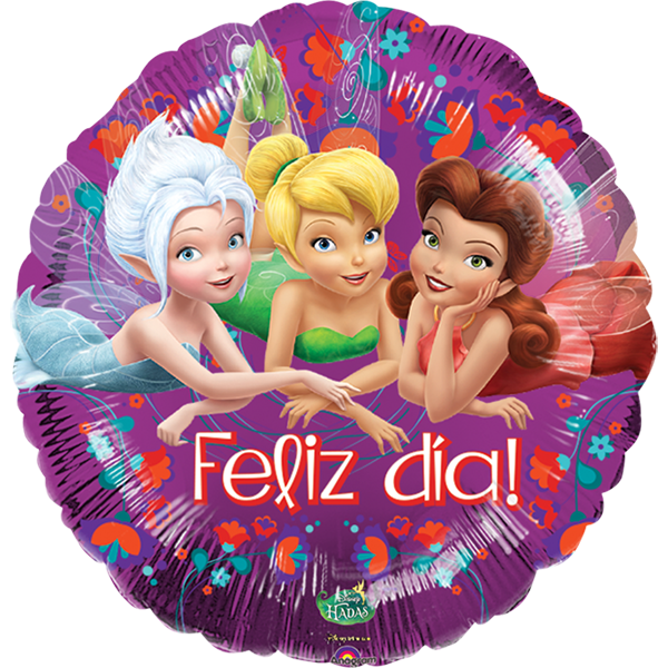 Globo Tinkerbell Feliz Dia