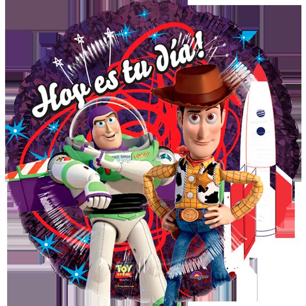 Globo Toy Story Tu Dia