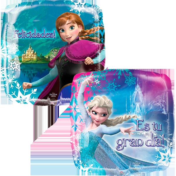 Globo Frozen Y Castillo