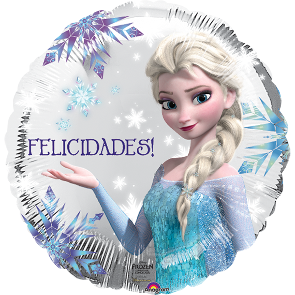Globo Frozen Felicidades