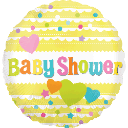 Globo Baby Shower Yellow