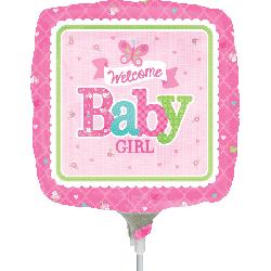 Globo Welcome Baby Girl