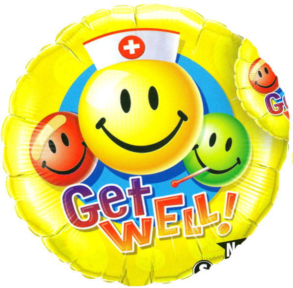 Globo Get Well Smile Face