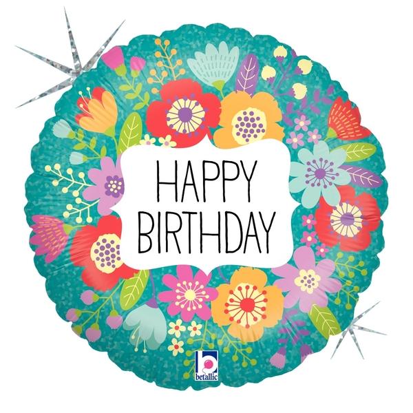 Globo Wildflowers Birthday