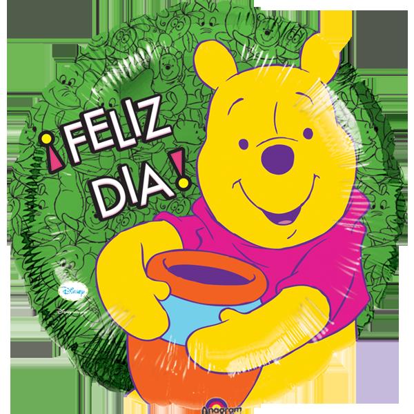Globo Pooh Feliz Dia