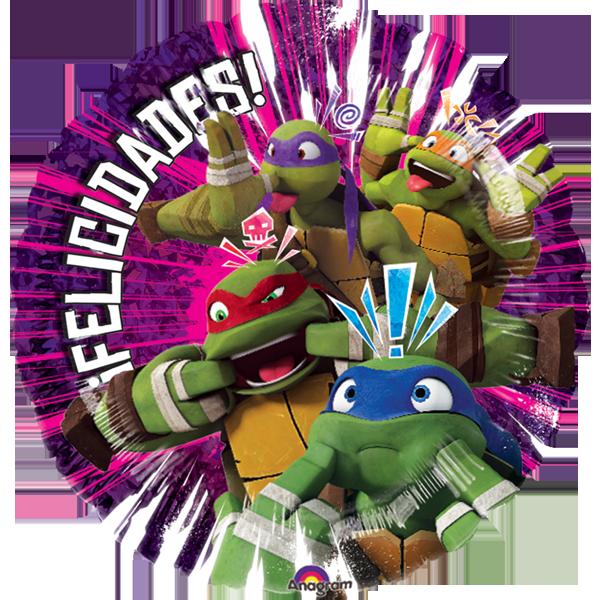 Globo Tortugas Ninjas