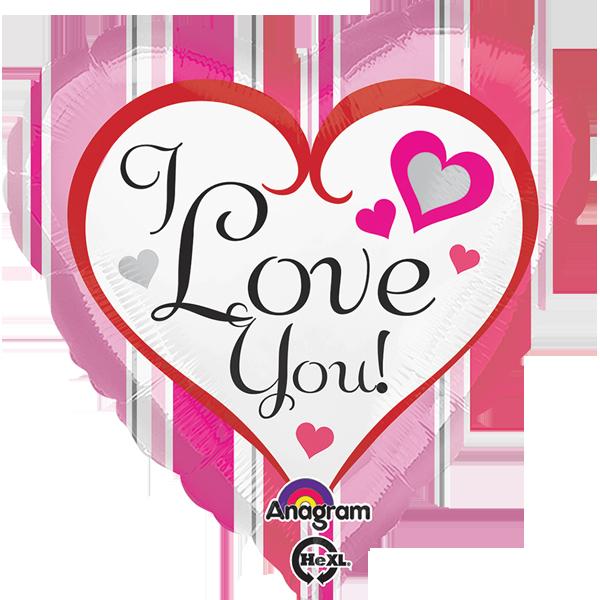 Globo Pink Stripes Love