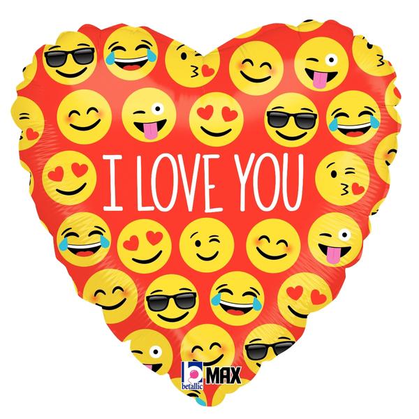 Globo Emoji I Love You
