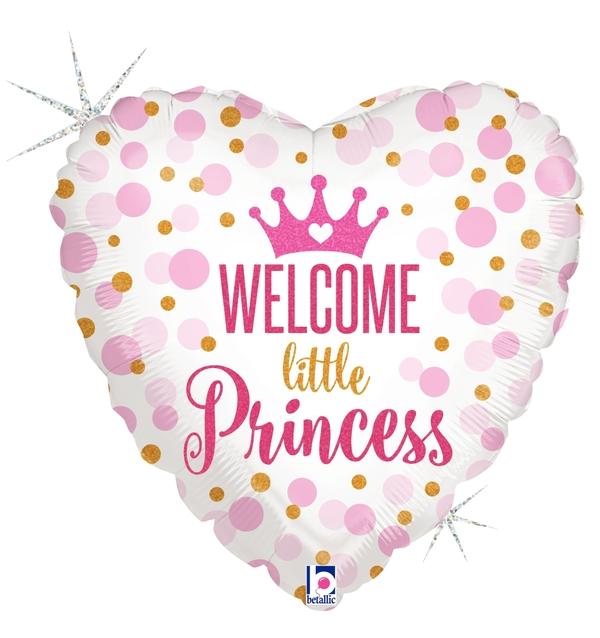 Globo Glitter Baby Princess
