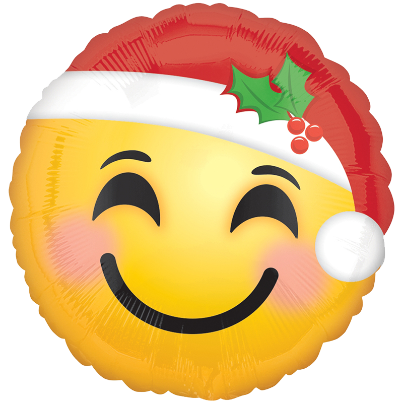 Globo Santa Hat Emoticons