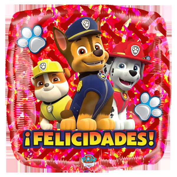 Globo Patrol Felicidades